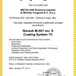 NORSOK M-501 rev 6 Coating System 7C