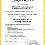 NORSOK M-501 rev 6 Coating System 8B